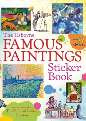 9781409550075_Famous paintings sticker book